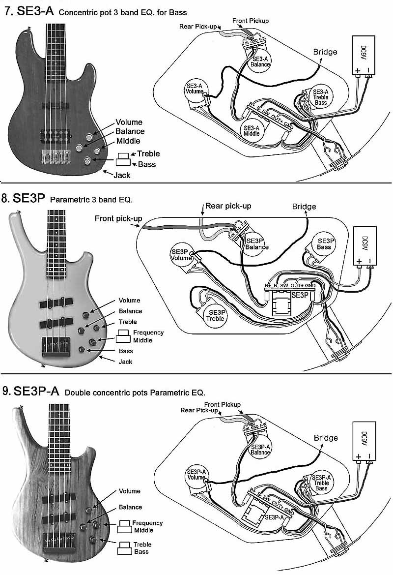Bass Wiring Diagram: bass pickup wiring diagrams gibson thunderbird wiring diagram com ,Design
