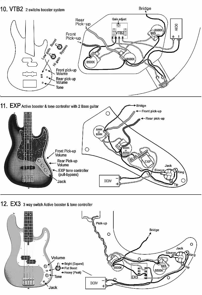 Squier Bass Wiring Diagram