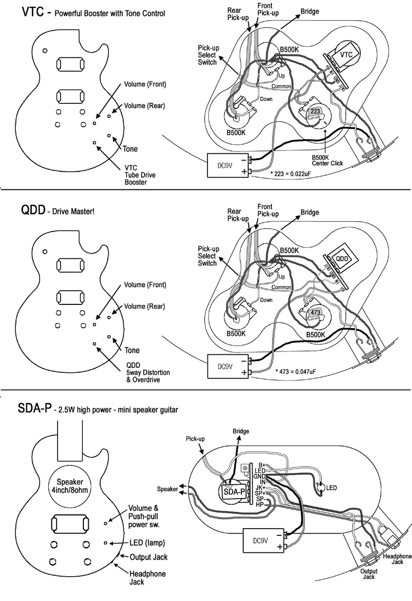 Psycho Knob Install Cigar Box Nation Guitar Wiring Diagram Two Humbuckers Four Knobs
